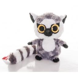 Купить Мягкая игрушка AURORA «Юху и друзья. Лемур с блестящими глазами» 20 см