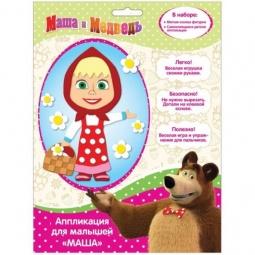фото Аппликация для малышей Росмэн «Маша» 29851