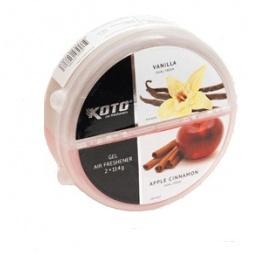 фото Ароматизатор под сиденье двойной Koto DUAL Fresh. Модель: Vanilla/ Apple Cinnamon