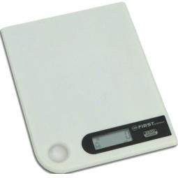 фото Весы кухонные First 6401-1. Цвет: серый