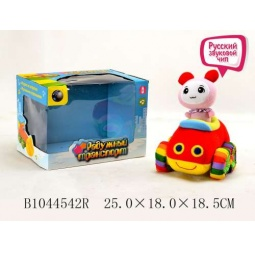 Купить Мягкая игрушка музыкальная Tongde «Машинка» В72425