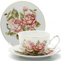 фото Чайная пара Loraine LR-24600 «Розы»