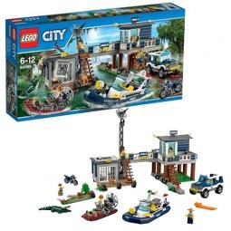 Купить Конструктор LEGO Участок новой лесной полиции