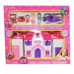 фото Кукольный дом с аксессуарами Shantou Gepai Моя счастливая семья