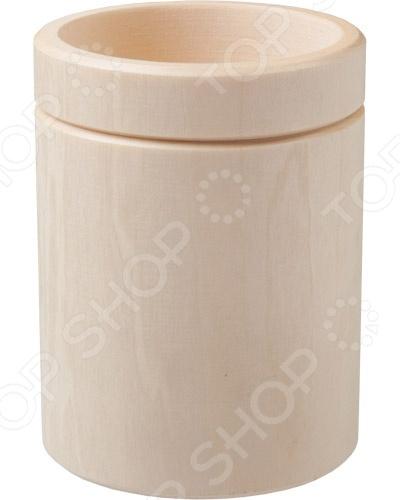 Стакан точеный Банные штучки 32242Кружки для бани<br>Стакан точеный Банные штучки 32242 прекрасно подойдет для подачи самых разных напитков. Представленная модель изготовлена из высококачественного материала и обладает самобытным дизайном. Вместимость изделия составляет 250 мл. Устойчивость стакана на столе гарантирует широкое основание.<br>
