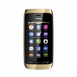 фото Мобильный телефон Nokia 308 Asha. Цвет: золотистый
