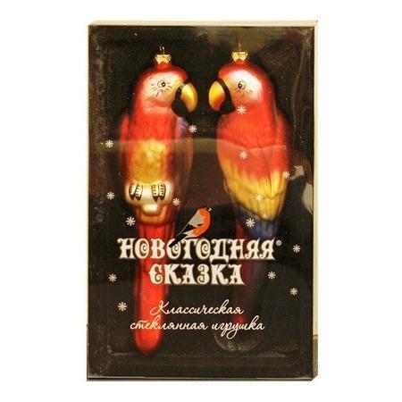 Купить Набор елочных украшений Новогодняя сказка «Попугаи» 97714