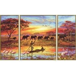 Купить Набор для рисования по номерам Schipper «Африка-Магический континент»
