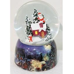 фото Декорация-шар Новогодняя сказка «Рождественская ночь» 972090