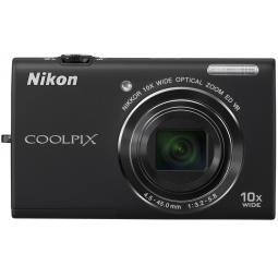 фото Фотокамера цифровая Nikon CoolPix S6200. Цвет: черный