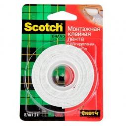 фото Лента монтажная двусторонняя Scotch 110D