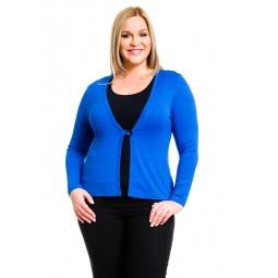 фото Жакет Mondigo XL 426. Цвет: синий. Размер одежды: 48