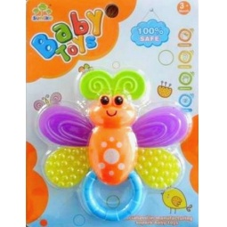 фото Погремушка Baby Toys «Бабочка»