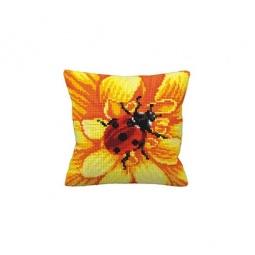 Купить Набор для вышивания подушки Collection D'art 5131