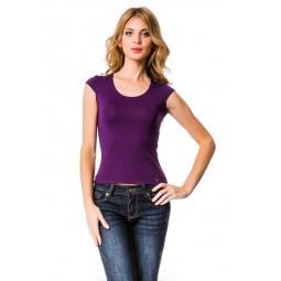 фото Футболка Mondigo XL 7001. Цвет: баклажановый. Размер одежды: 52