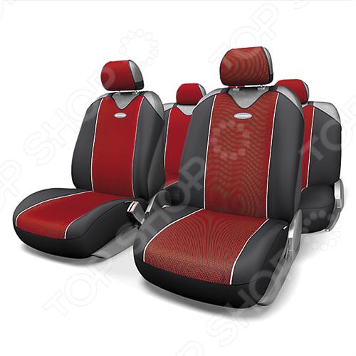 Набор чехлов-маек для сидений Autoprofi CRB-902P Carbon Plus комплект чехлов на весь салон autoprofi carbon plus zippers crb 902pz bk gy