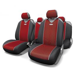Купить Набор чехлов-маек для сидений Autoprofi CRB-902P Carbon Plus