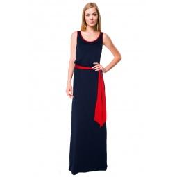 фото Платье Mondigo 7041. Цвет: темно-синий. Размер одежды: 42
