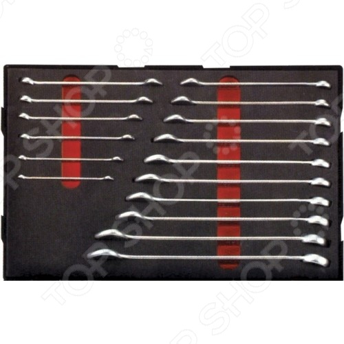 Набор ключей комбинированных Force F-K5165  force 5121 набор комбинированных ключей 8 23 мм
