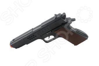 Пистолет игрушечный Shantou Gepai S258-15Пистолеты<br>Пистолет игрушечный Shantou Gepai S258-15 понравится любому ребенку, увлекающемуся играми в войнушки . Внешний вид пистолета напоминает пистолеты из знаменитых фильмов и мультиков. Пистолет позволит вашему ребенку играть с друзьями в различные подвижные игры, которые способствуют физическому развитию малыша, а игра в команде развивает дух здорового соперничества.<br>
