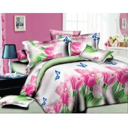 фото Комплект постельного белья Amore Mio Tulpan. Mako-Satin. 1,5-спальный