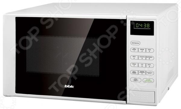 Микроволновая печь BBK 20MWS-728S микроволновая печь bbk 23mws 927m w 900 вт белый