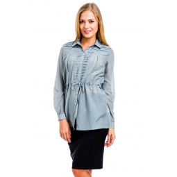 фото Блузка Mondigo 9954. Цвет: серый. Размер одежды: 48