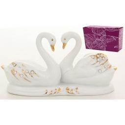 фото Фигурка декоративная Elan Gallery «Пара белых лебедей»