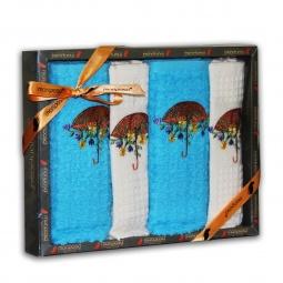 фото Комплект из 4-х кухонных полотенец Mariposa Umbrella