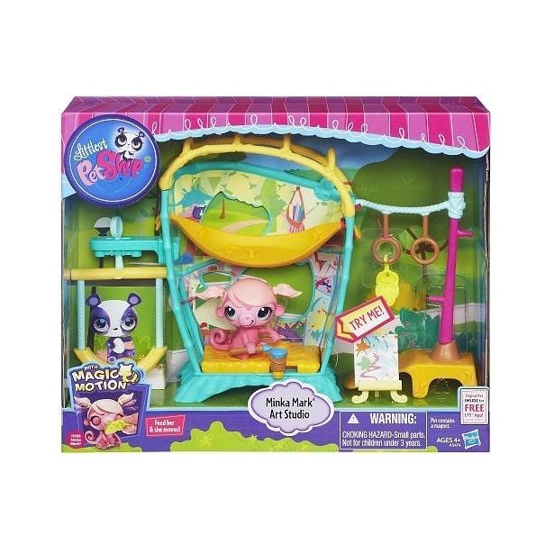 фото Набор игровой Hasbro HA5474 «Студия обезьянки Минки»