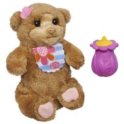 фото Мягкая игрушка интерактивная Hasbro A2642 «Новорожденные зверята. Медвежонок»