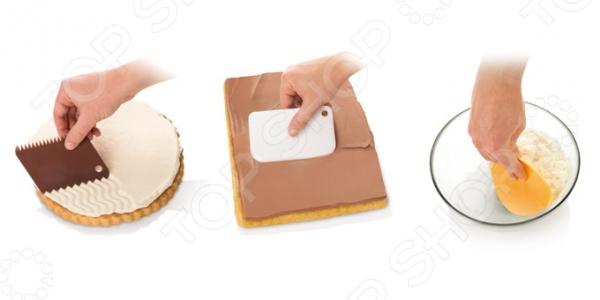Набор шпателей для торта Tescoma Delicia