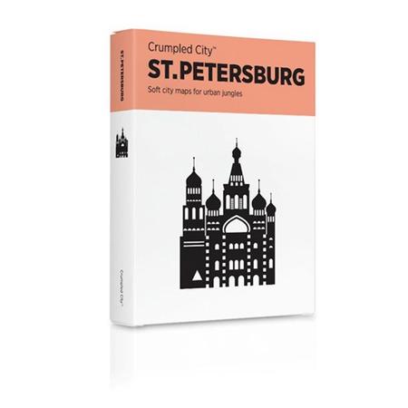 Купить Карта туристическая мятая Palomar St. Petersburg