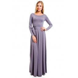 фото Платье Mondigo 7003. Цвет: серый. Размер одежды: 48
