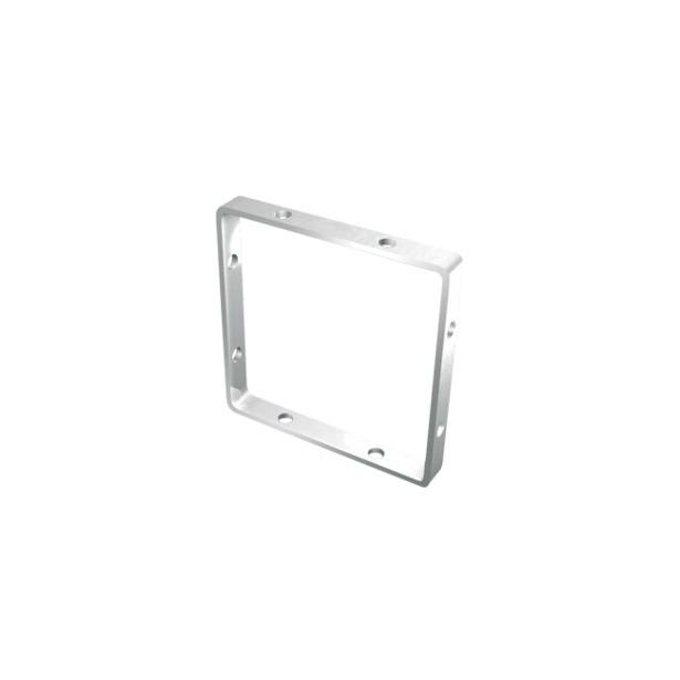 фото Основа для украшения квадратная Fimo 8625. Размер: 25х25 мм