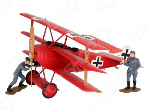Сборная модель самолета Revell Fokker Dr.I Richthofen модель сборная revell самолет fokker e iii 1 72