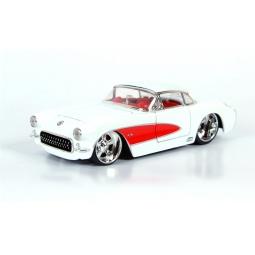 фото Модель автомобиля 1:24 Jada Toys Chevy Corvette 1957. Цвет: белый