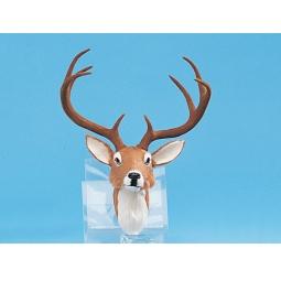 Купить Сувенир из меха «Голова оленя»