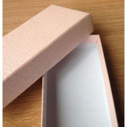фото Коробка подарочная Феникс-Презент «Персиковый». Размер: M (12х5,2 см). Высота: 2 см