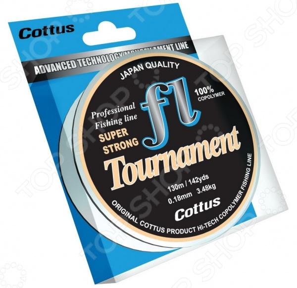 Леска рыболовная Cottus Tournament Леска рыболовная Cottus Tournament /0.18