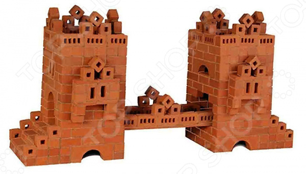 Конструктор из глины Brick Master «Мост»Другие виды конструкторов<br>Конструктор из глины Brick Master Мост оригинальная альтернатива традиционным конструкторам с пластиковыми деталями. Почувствуйте себя настоящим строителем, создавая строение из миниатюрных кирпичиков. Все строительные блоки выполнены из обожженной глины, они гладкие и приятные на ощупь. Набор включает специальную строительную смесь из очищенного речного песка и крахмала, используемую для скрепления кирпичиков. После высыхания состав затвердевает, и готовое строение можно поставить на полочку. Однако при желании достаточно поместить конструкцию на 3-4 часа в воду, и смесь растворится. В результате кирпичики снова будут готовы для игры. Конструктор подойдет для детей от 3 лет. Главное, чтобы ребенок начинал игру под присмотром взрослых. Все материалы экологически чистые и безопасные для здоровья. Комплект включает керамические детали, смесь и мастерок.<br>