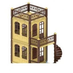 фото Домик кукольный Нордпласт «Замок. Принцессы 2»