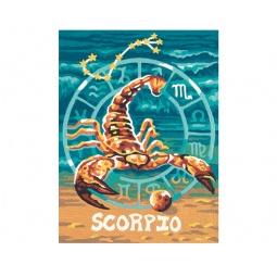 Купить Набор для рисования по номерам Schipper «Скорпион»
