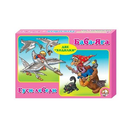 Купить Настольная игра Десятое королевство «Гуси- лебеди и Баба - Яга 2 в 1»