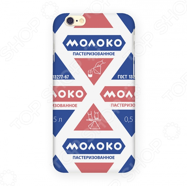Чехол для iPhone 6 Mitya Veselkov «Молоко» цена