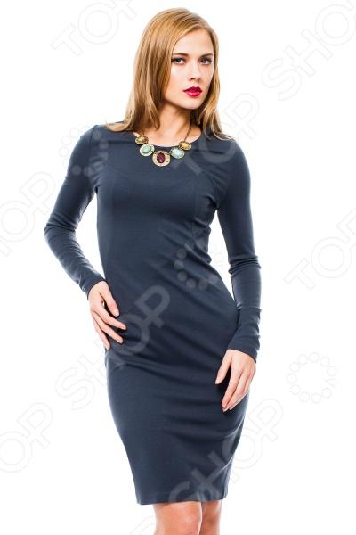 Платье Mondigo 8670. Цвет: темно-серый