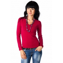 фото Джемпер Mondigo 9131. Цвет: бордовый. Размер одежды: 44