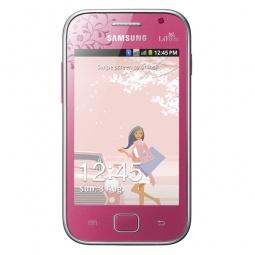 фото Смартфон Samsung Galaxy Ace Duos GT-S6802. Цвет: цветочный узор, розовый