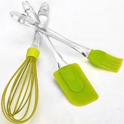фото Набор кухонных принадлежностей Mayer&Boch MB-20063. Цвет: зеленый