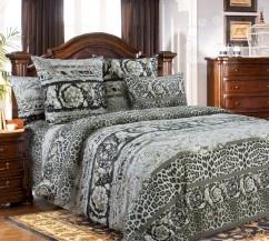 Комплект постельного белья Королевское Искушение «Корнет». ЕвроЕвро<br>Комплект постельного белья Королевское Искушение Корнет это незаменимый элемент вашей спальни. Человек треть своей жизни проводит в постели, и от ощущений, которые вы испытываете при прикосновении к простыням или наволочкам, многое зависит. Чтобы сон всегда был комфортным, а пробуждение приятным, мы предлагаем вам этот комплект постельного белья. Приятный цвет и высокое качество комплекта гарантирует, что атмосфера вашей спальни наполнится теплотой и уютом, а вы испытаете множество сладких мгновений спокойного сна. Комплект выполнен из перкали. Перкаль это тонкая хлопковая ткань высочайшего качества. Особый способ переплетения из нескрученной хлопковой пряжи придает материалу достаточно прочности, чтобы не пропускать перья и пух, и в то же время оставаться исключительно нежным и мягким на ощупь. Благодаря уникальным потребительским свойствам, белье не теряет цвет и не садится во время стирки, а на ткани не образуются катышки .<br>